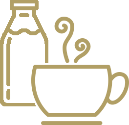 Coffee - Brewed - With Milk