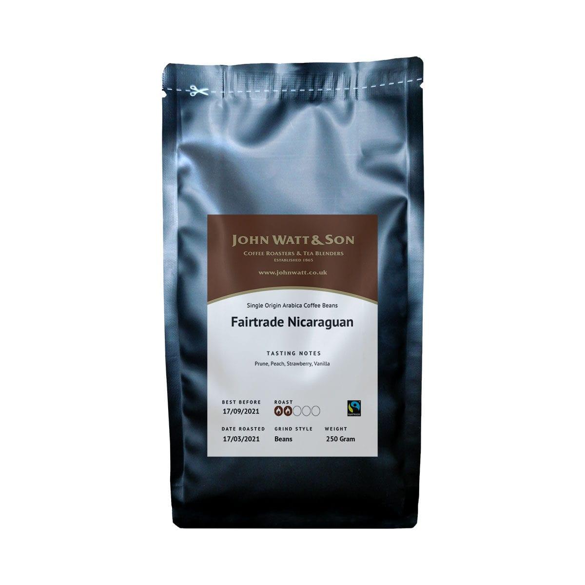 Fairtrade Nicaraguan coffee