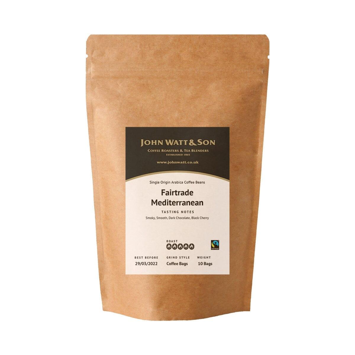 Fairtrade Mediterranean Coffeebags