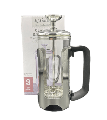 3 cup glass cafetiere